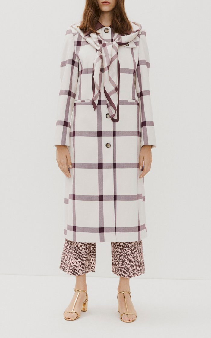 Desma Printed Longline Coat