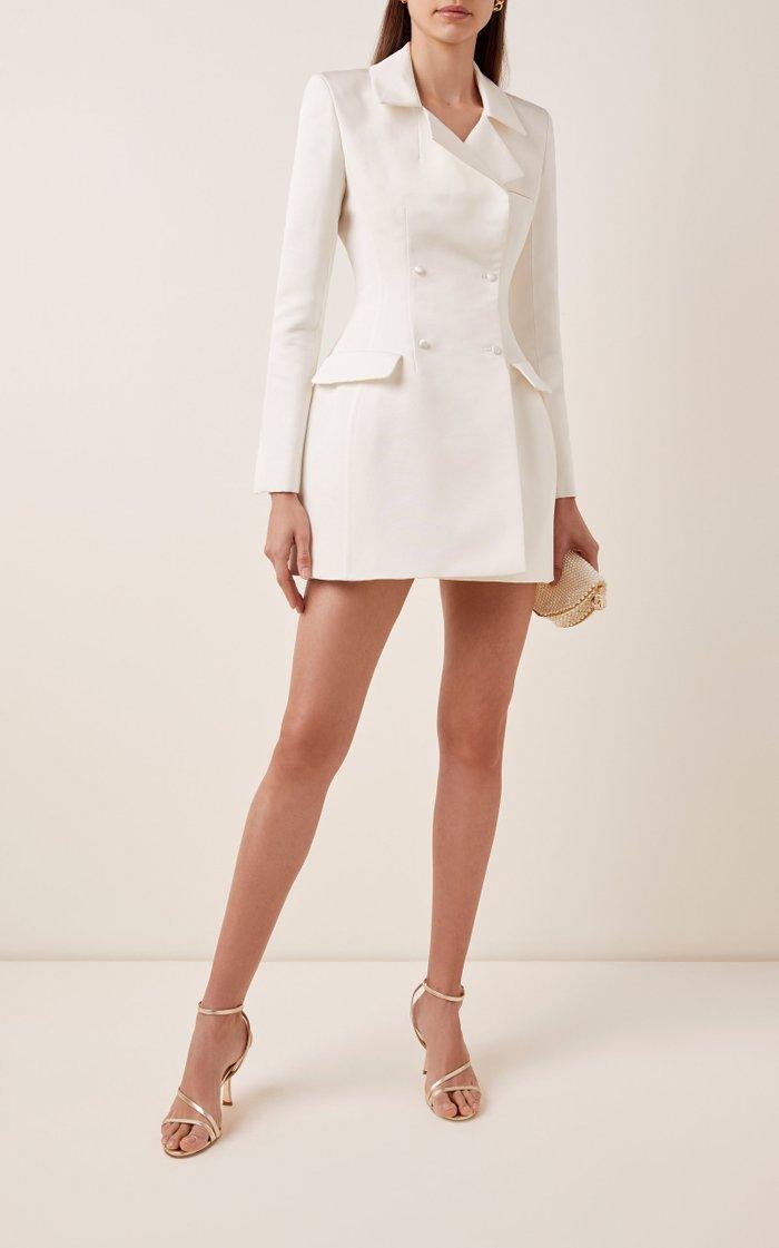 Lia Silk Blazer Dress