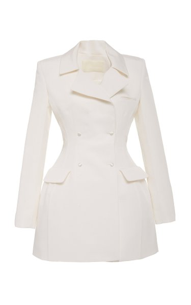 Lia Silk Blazer Dress