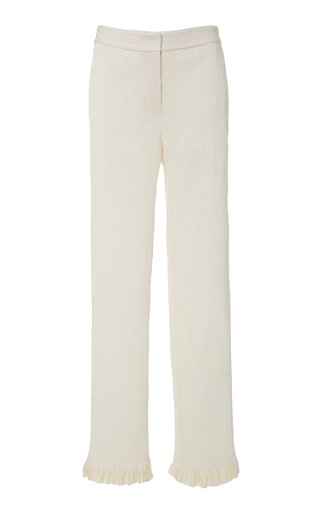 Dana Pleated Georgette Pants