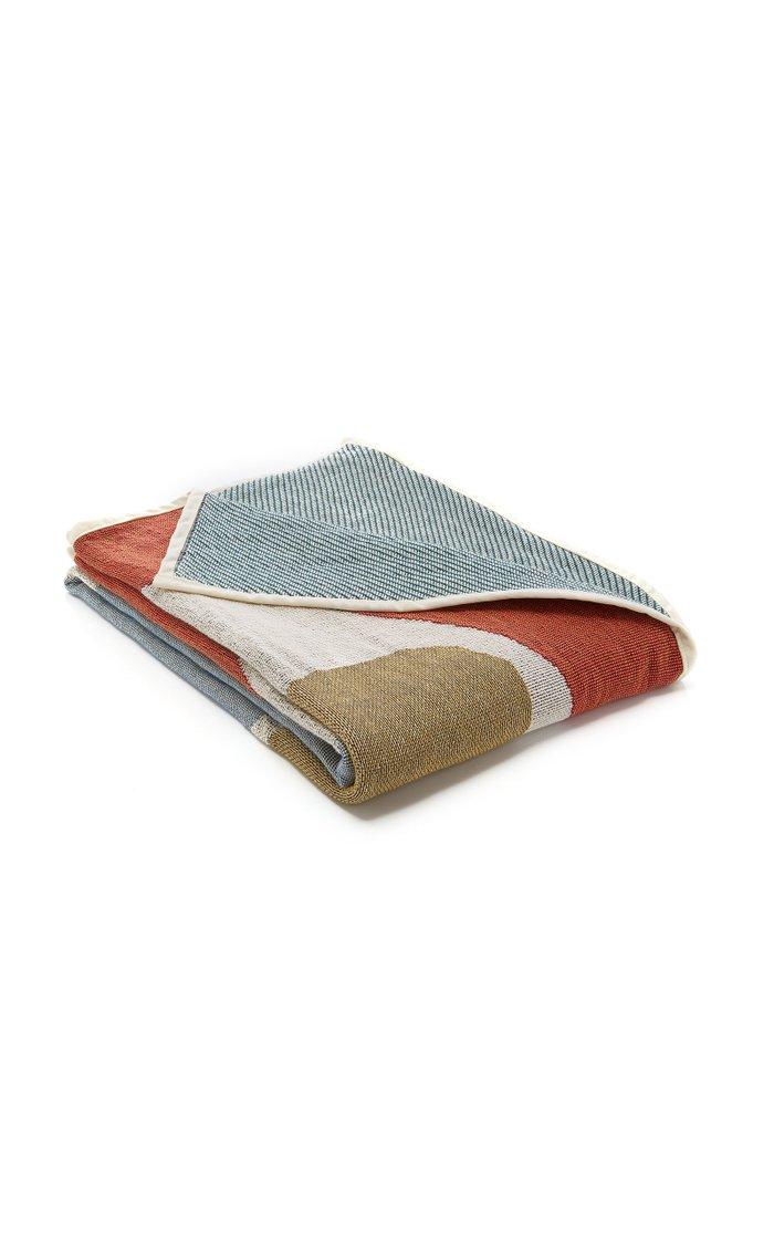 Reversible Tapestry Blanket