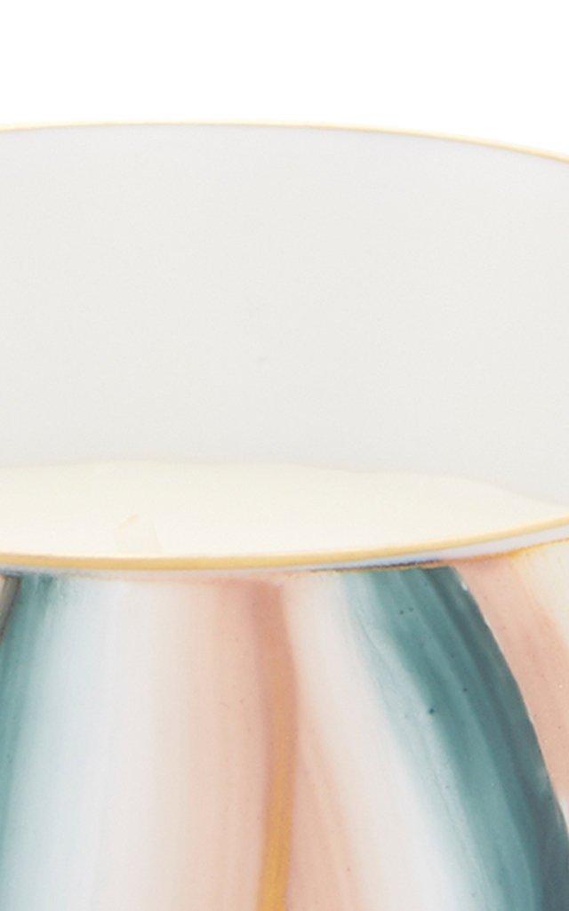 Porcelain Goblet And Candle Holder