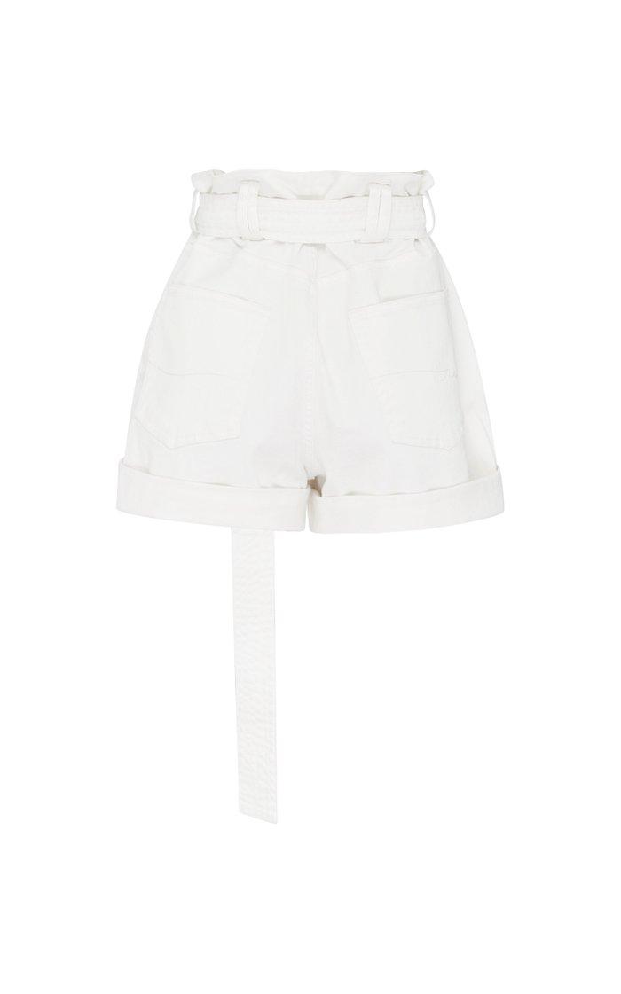 Salt Lake Belted Denim Shorts