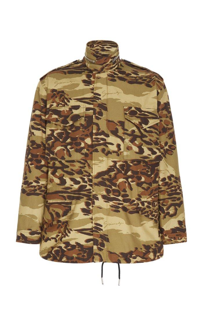 Camouflage Cotton Field Jacket