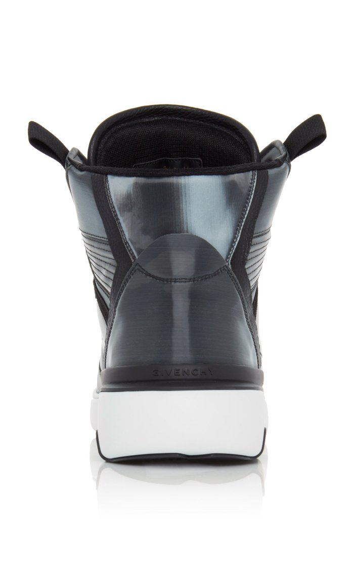 Wing Hologram High-Top Sneakers