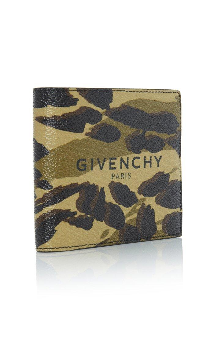 Textured Camouflage Wallet