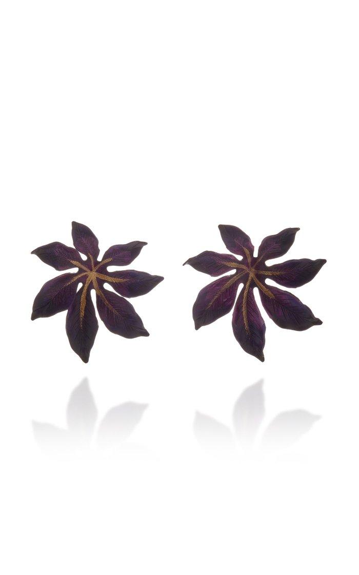 Laila Brass Earrings