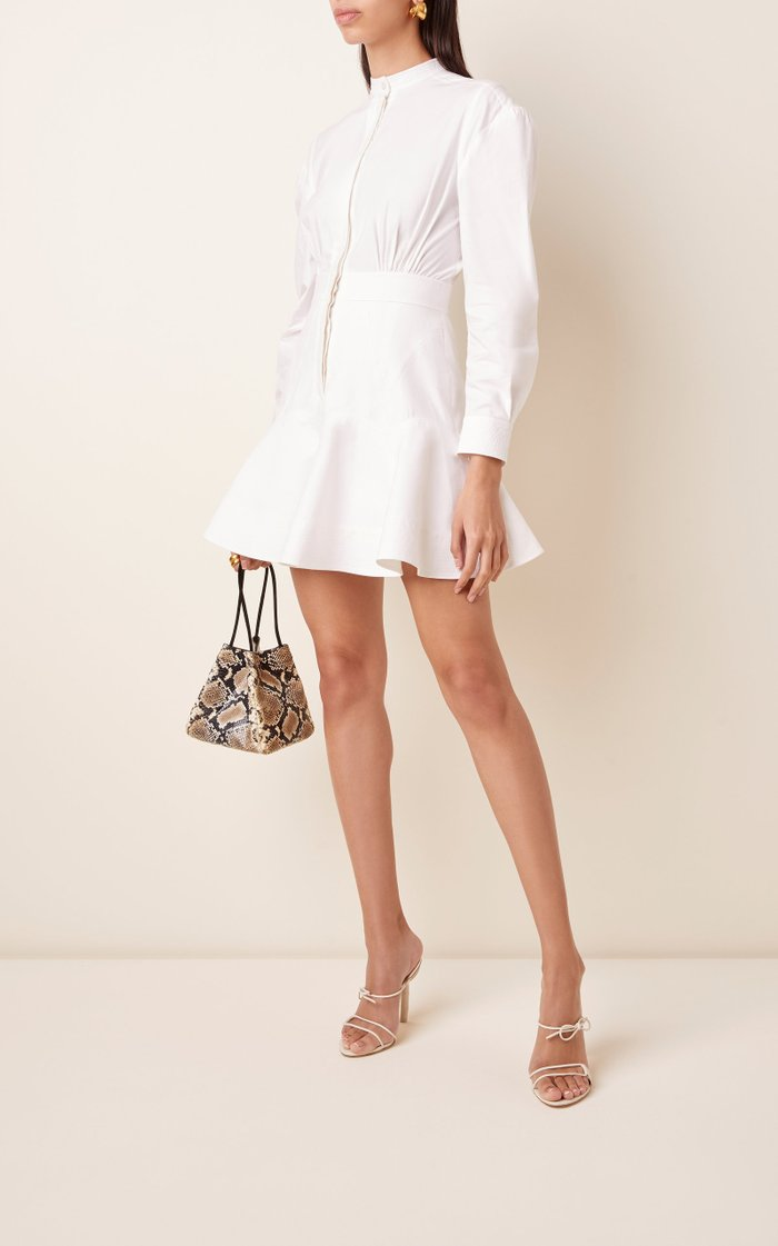 Lewis Cotton Mini Shirt Dress