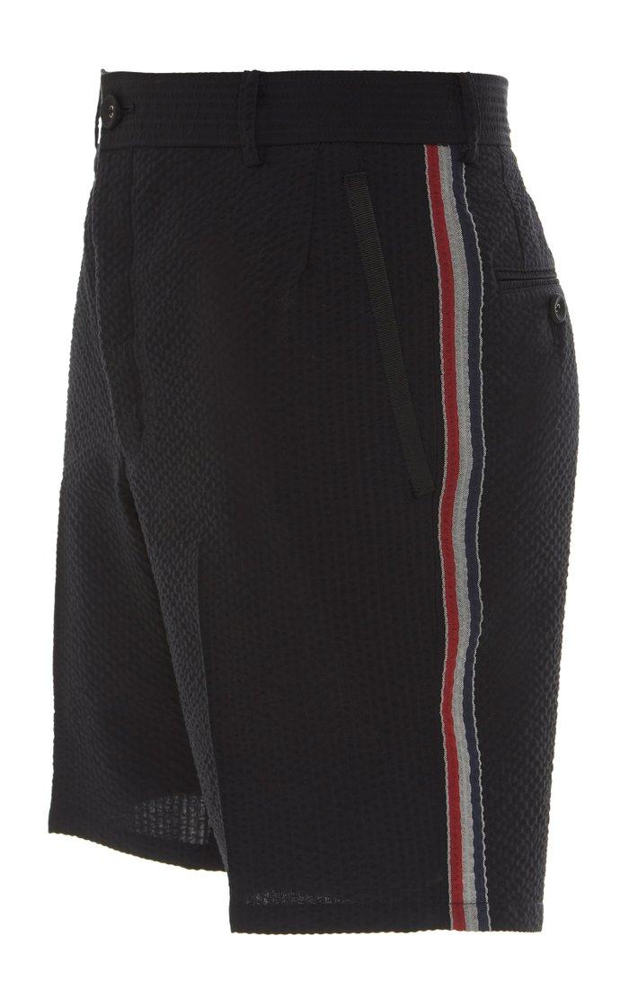 Tailored Engineered Wool Shorts