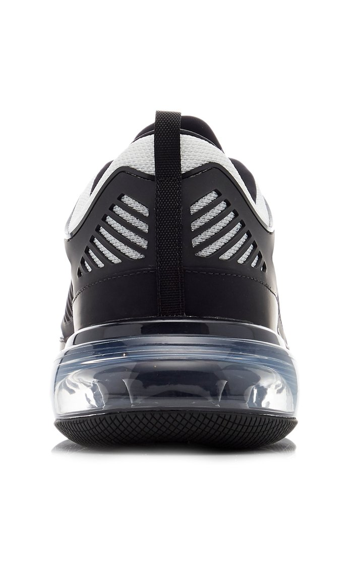 Cloudbust Air Leather, Mesh And Rubber Sneakers