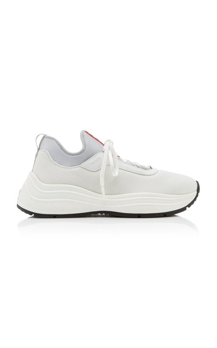 Mesh and Neoprene Sneakers