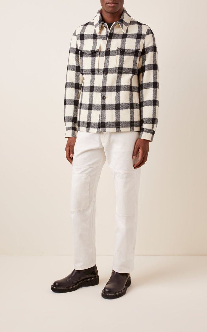 Checked Flannel Jacket