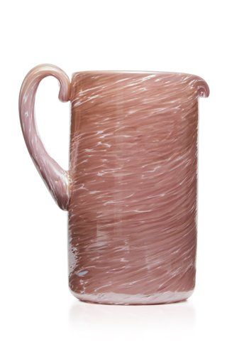 Amethyst Glass Pitcher