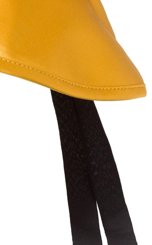 Shiny Perfection Silk-Satin Bucket Hat