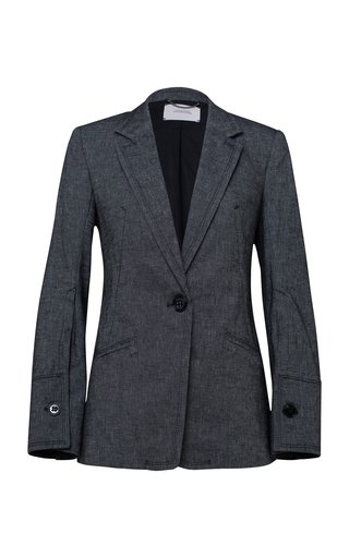 Denim Coolness Tailored Blazer