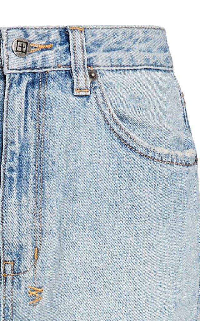 Playback Rigid High-Rise Straight-Leg Jeans