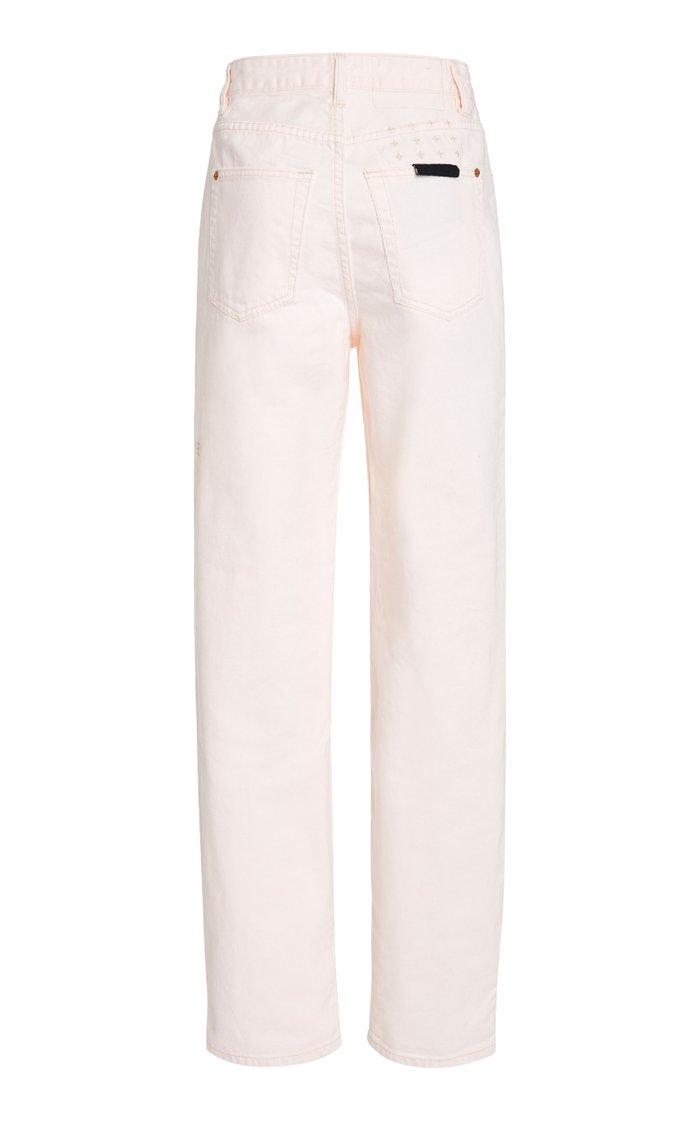 Playback Rigid High-Rise Straight-Leg Jean
