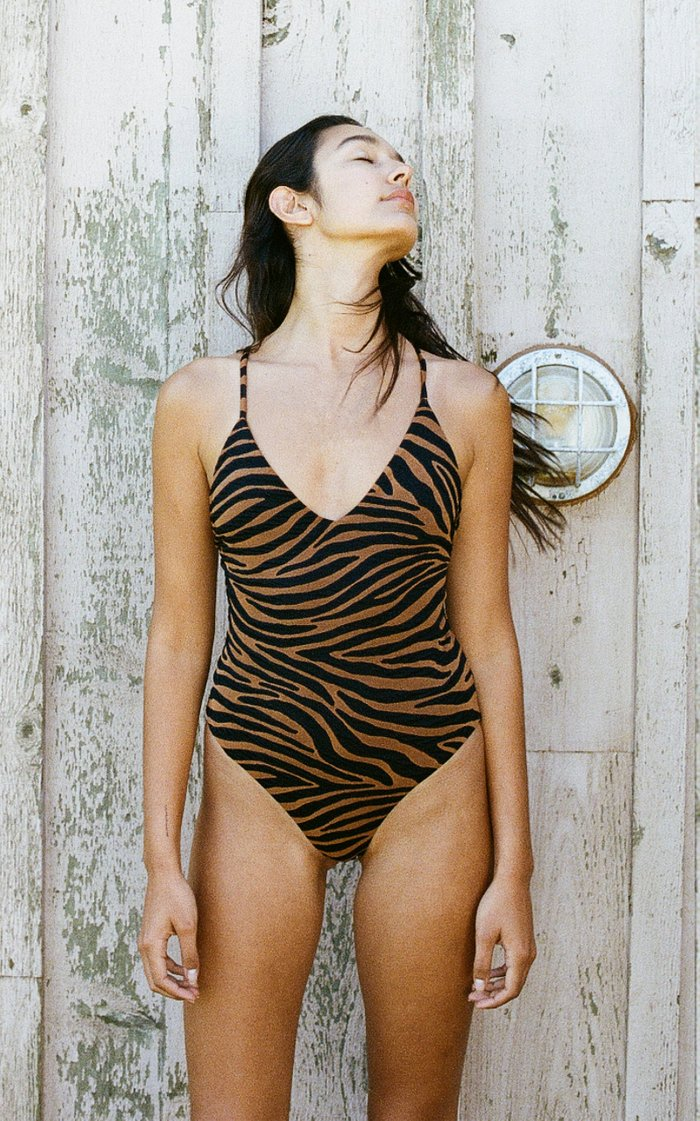 Emma Printed One Piece Swimsuit
