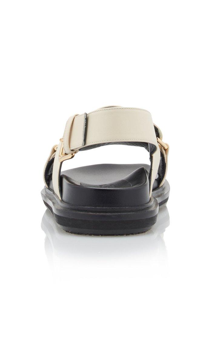 Fussbett Leather Slingback Sandals