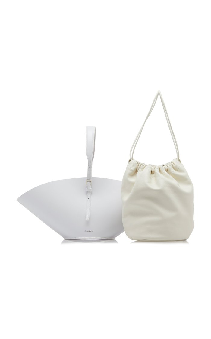 Sombrero Small Leather Top-Handle Bag