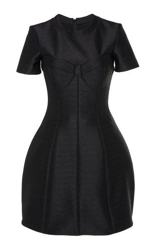 Neoprene Bustier Mini Dress