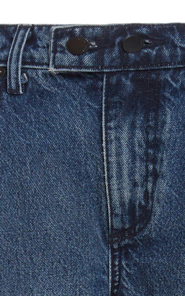 Marina Rigid High-Rise Flare-Leg Jeans