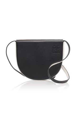 Heel Leather Shoulder Bag