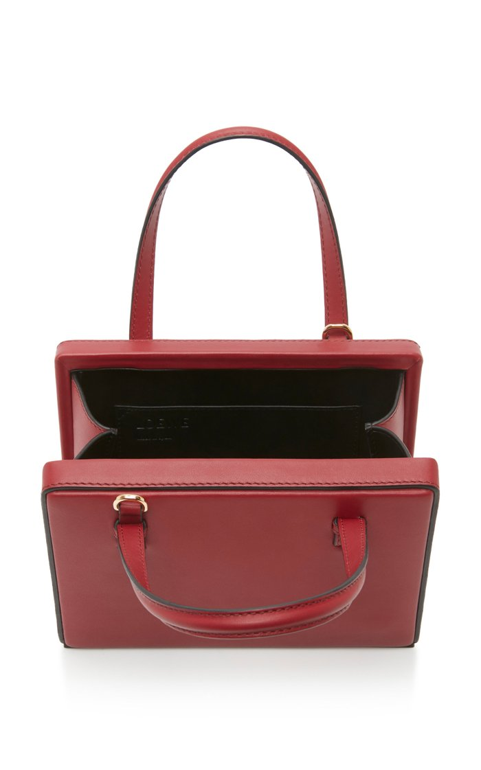 Postal Small Leather Tote