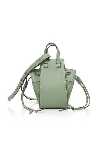 Hammock Mini Drawstring Textured-Leather Bag