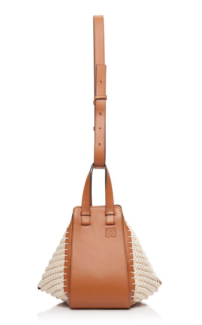 Hammock Paneled Leather Tote