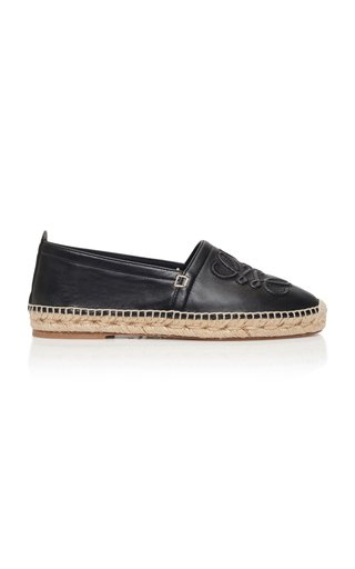 Anagram Leather Espadrilles