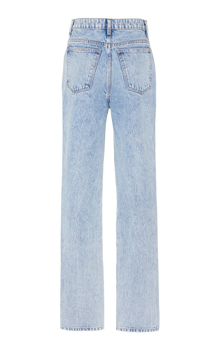 Daria High-Rise Straight-Leg Jeans