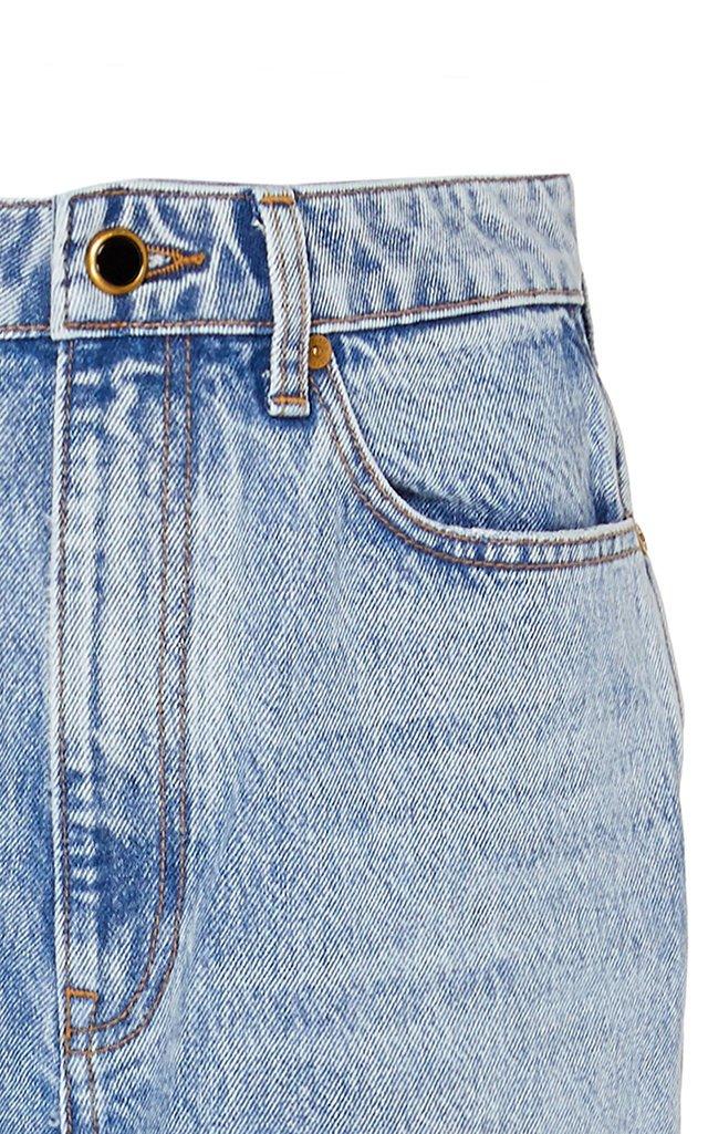 Daria High-Rise Straight-Leg Jeans