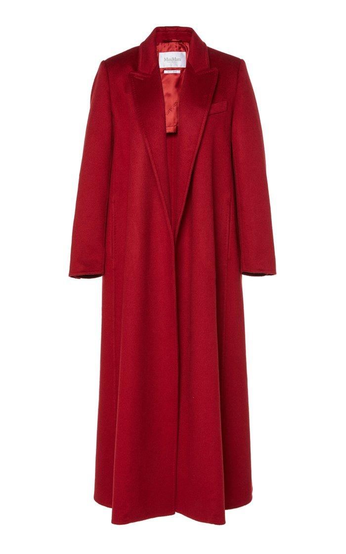 Kriss Brushed Cashmere Coat
