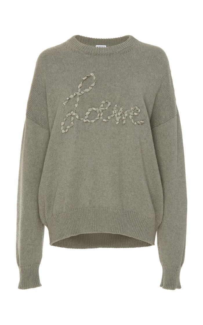 Embroidered Cotton Sweatshirt