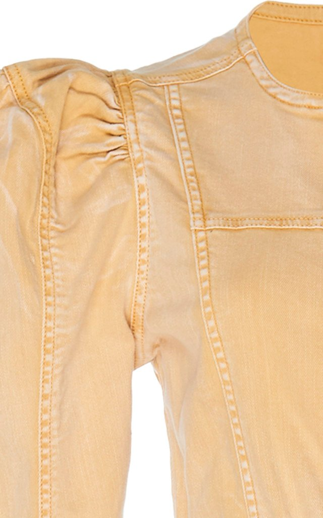Hesper Belted Denim Jumpsuit