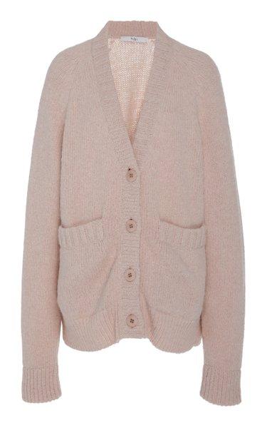 Cozette Alpaca Sweater Raglan Sleeve Easy-Cozy Cardigan