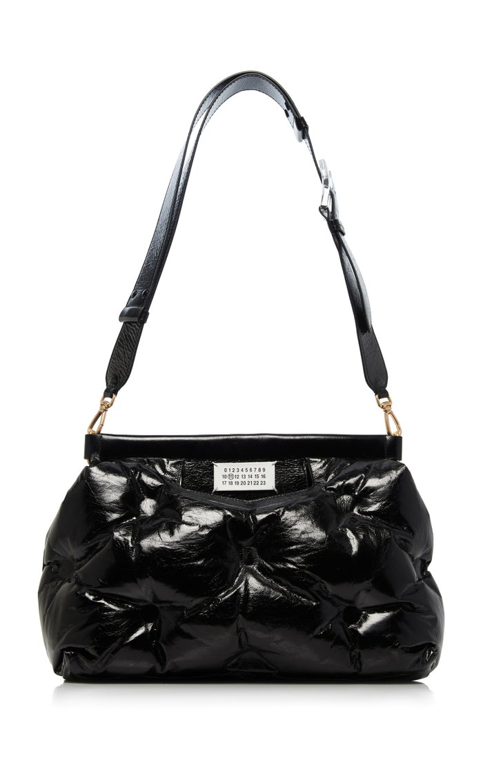 Glam Slam Patent Leather Bag