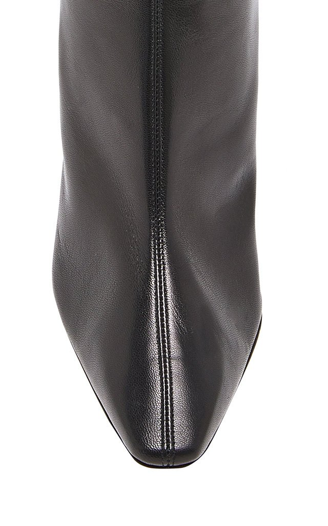Curzon Leather Ankle Boots