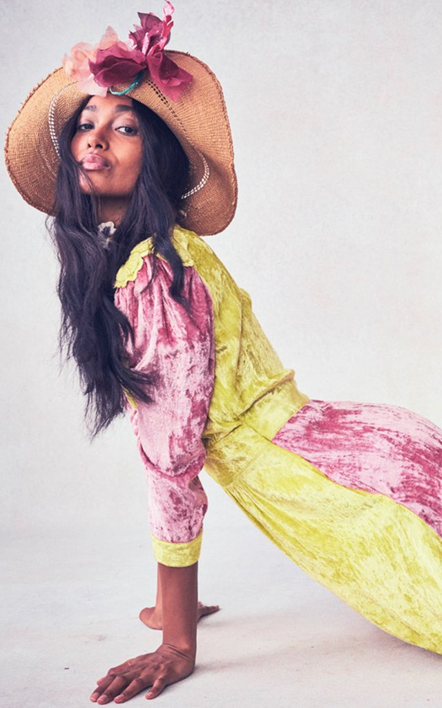Avalon Mixed Print Dress