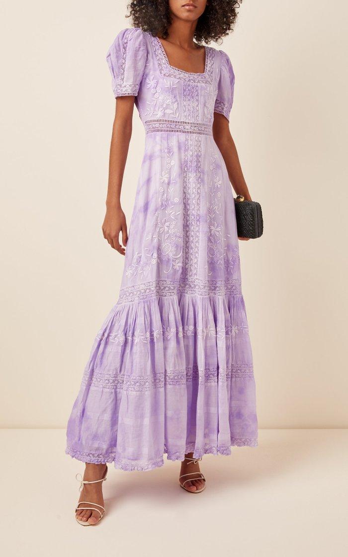 Ryan Cloud Cotton Maxi Dress