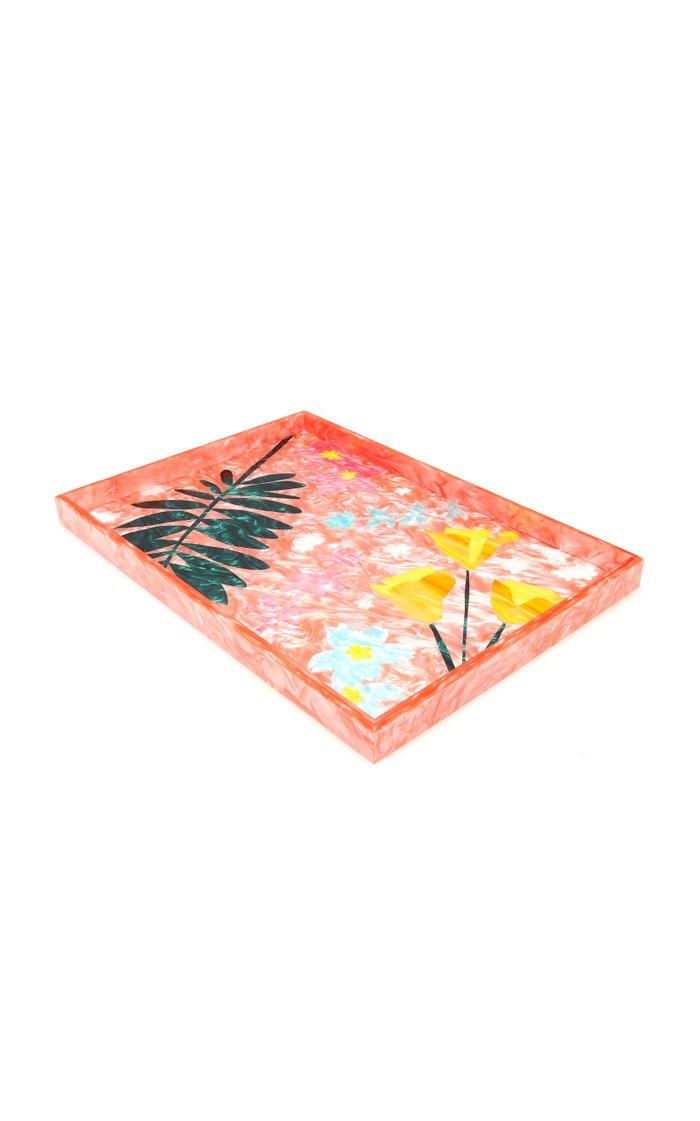 Bodacious Botanical Extra Large Acrylic Tray