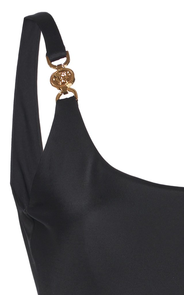 Buckle-Embellished Swimsuit