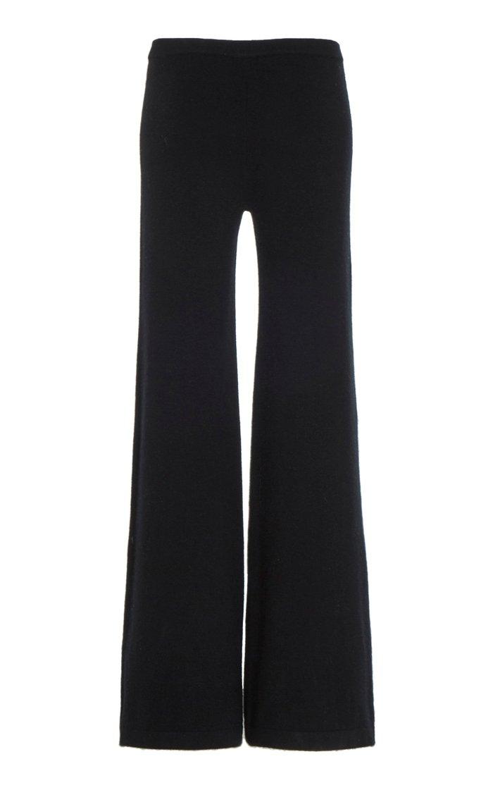 Paean Cashmere Wide-Leg Pants