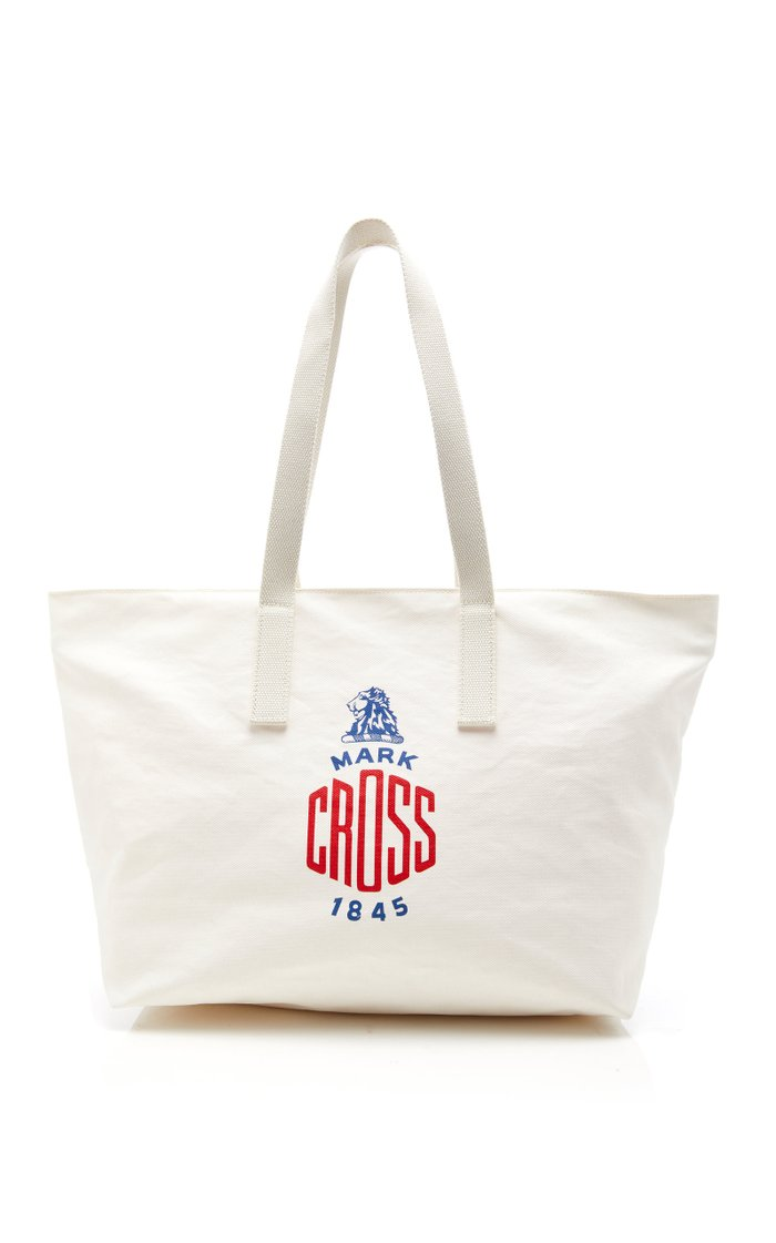 Weatherbird Small Printed Canvas Tote