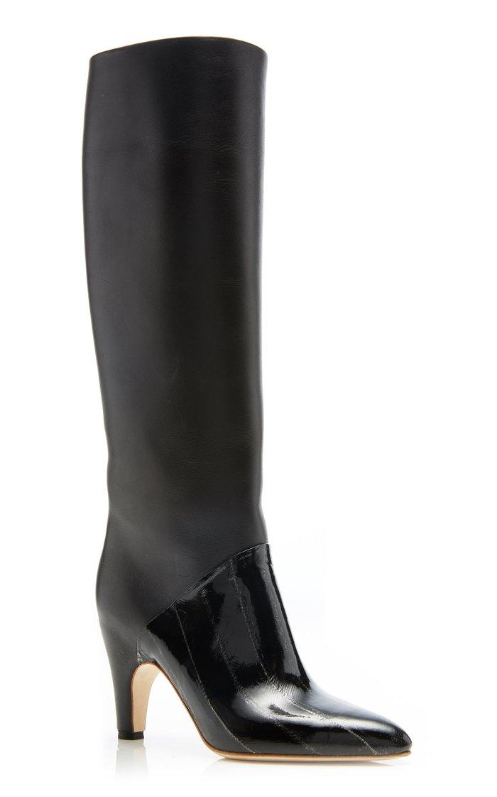 Rimbaud Leather Boots