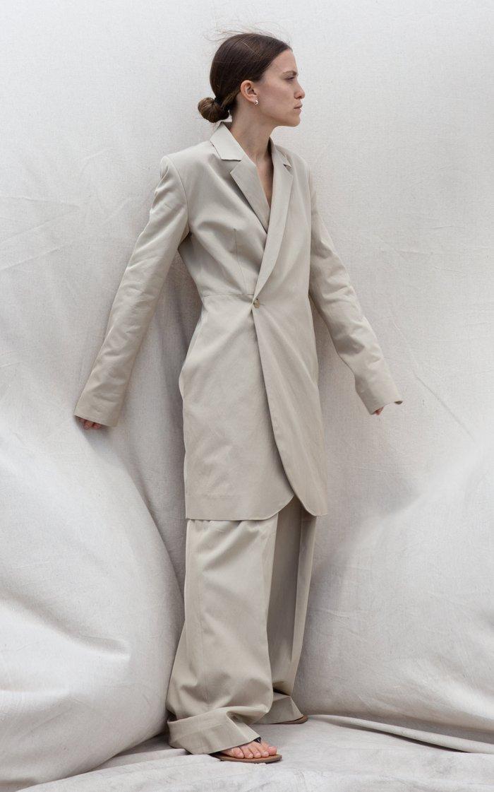 Olivia Crepe Blazer Dress