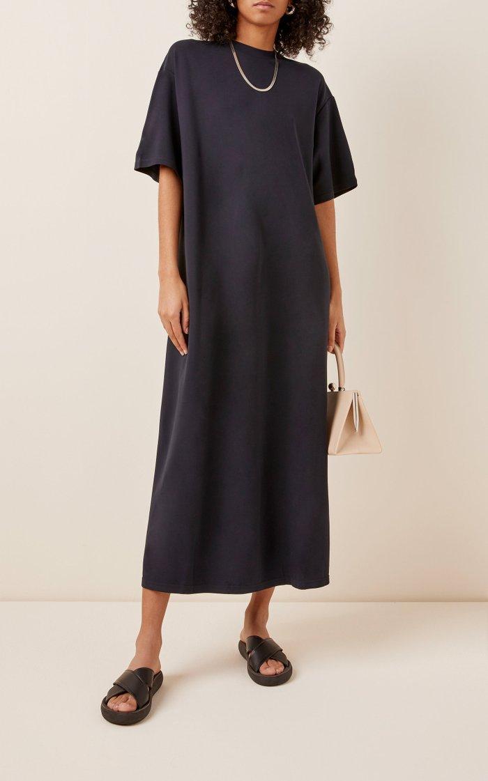 Alex Stretch-Jersey Midi Dress