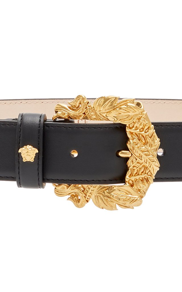 Western Leather Buckle Belt
