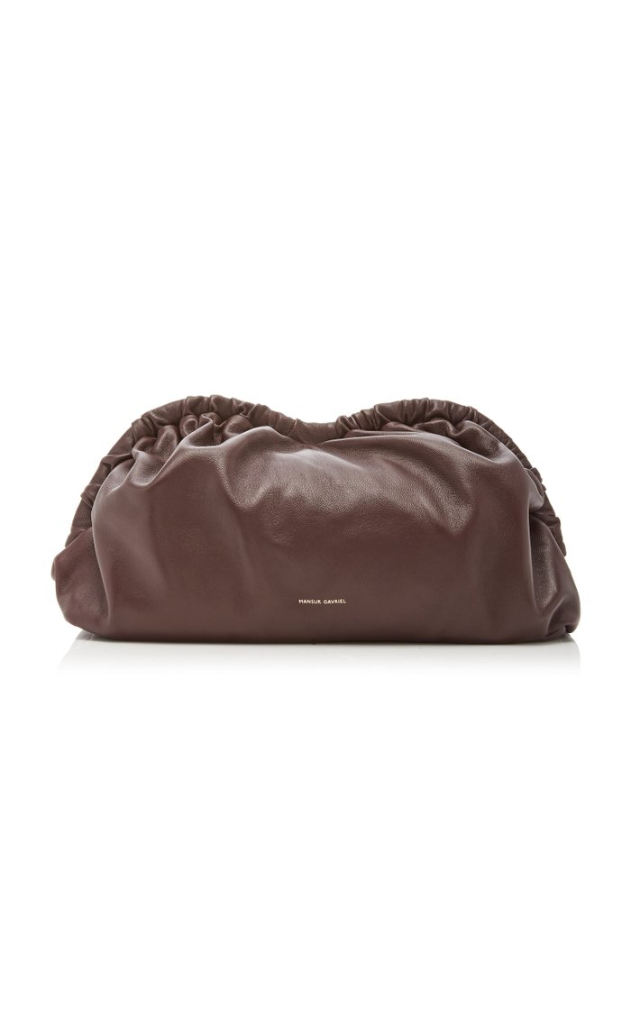 Cloud Leather Clutch